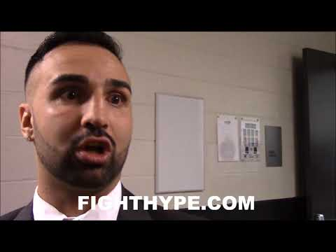 """MALIGNAGGI DECRIBES TENSION BETWEEN THURMAN AND SPENCE: """"THEY WERE SIZING EACH OTHER UP"""""""
