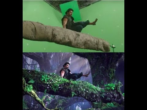 Green Screen Before And After Bollywood Movies Visual