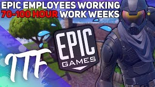 Epic Employees Working 70-100 HOUR WEEKS!? (Fortnite Battle Royale)