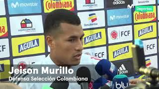 Perú vs Colombia: Jeison Murillo habla de la previa del partido amistoso en Miami