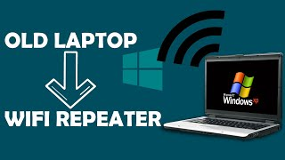 How to transform your old laptop into a wifi repeater ?