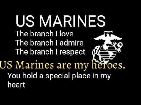 Mama,Mama, Can't you see? -USMC Cadence
