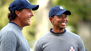 Phil Mickelson on Tiger Woods: We're Friends Now | The Dan Patrick Show | 3/8/17
