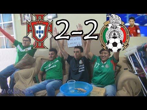 ¡DUELO DE DIOSES! / Portugal vs México (2-2) Copa Confederaciones Rusia 2017 / Reacciones