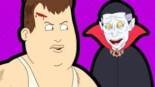 dracula s time machine teleporting fat guy 2