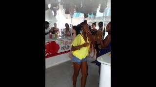 Red Dread Catamaran trip to Margaritaville Montego Bay Jamaica