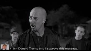 EDWARD NORTON Endorses Donald Trump!!