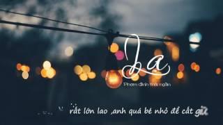 Lạ - Phạm Đình Thái Ngân   Video   Lyrics + Kara  