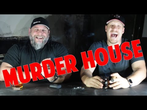E. 48 Exploring an Abandoned Murder House (ft. Asylum Cigars)