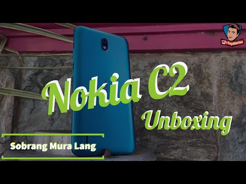 Nokia C2 Unboxing and First Impressions - Filipino