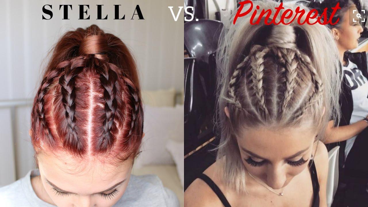 Pinterest: Dutch Braid Ponytail Updo