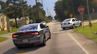 Raw Dashcam Footage Of Dangerous High Speed Police Chase