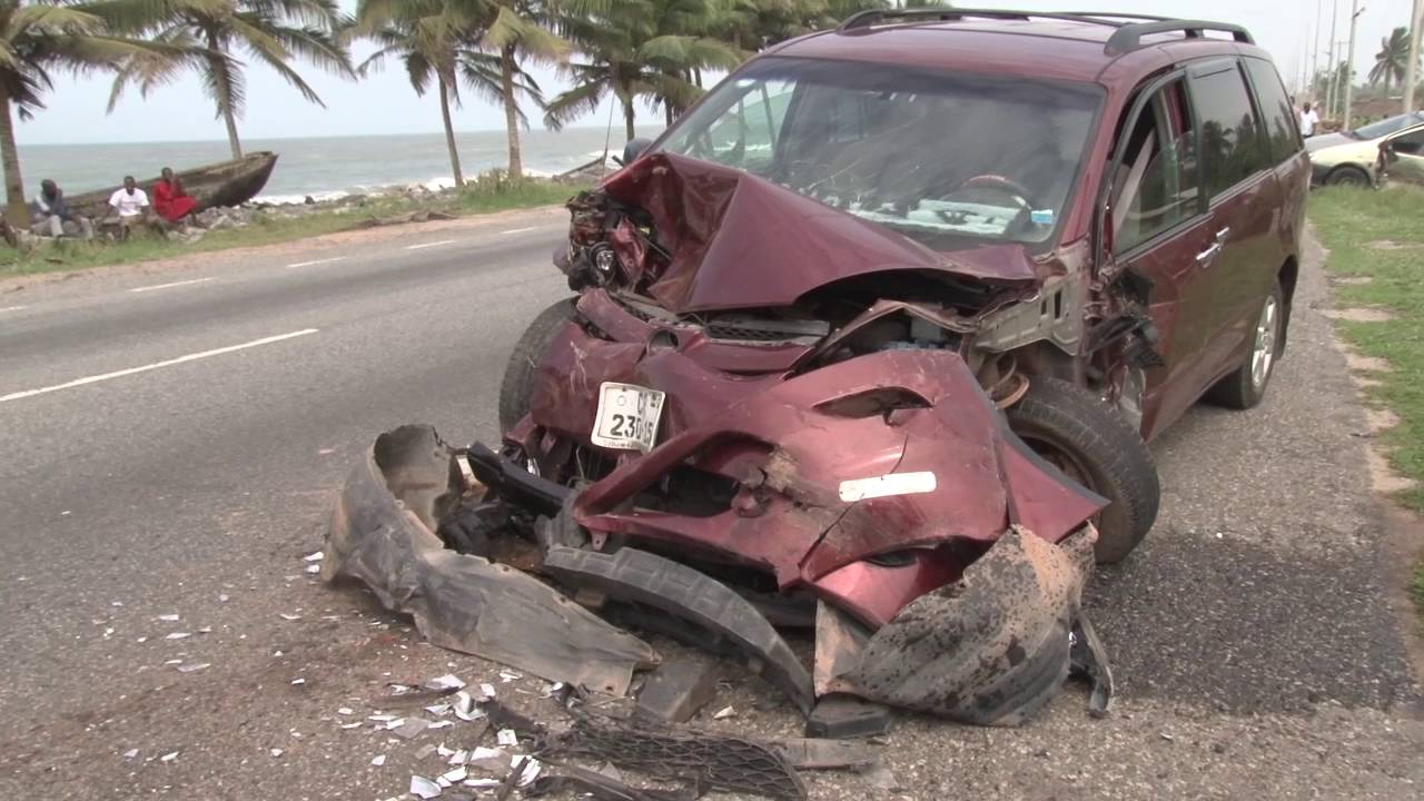 Glory Accident On The Accra -Tarkoradi Highway But No Life Lost