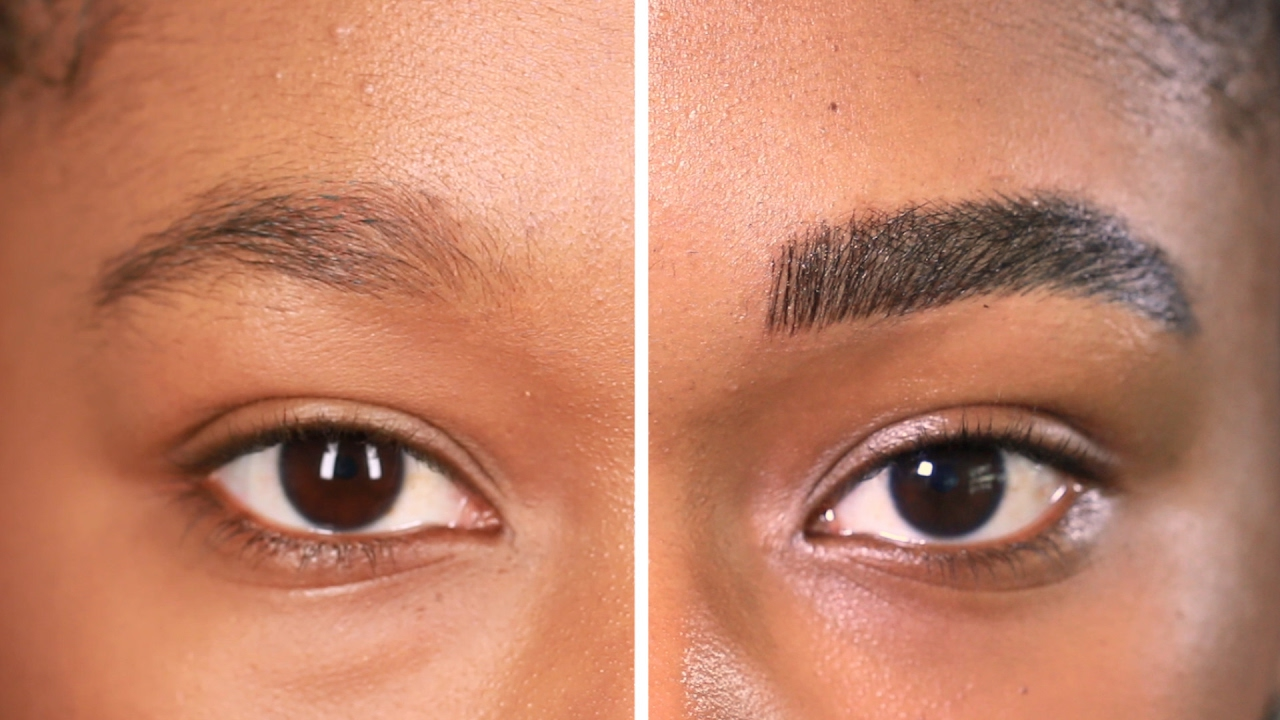 I Got My Eyebrows Microbladed For The First Time Youtube