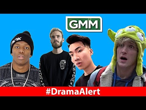 KSI WINS FIGHT! #DramaAlert PewDiePie ROASTS Logan Paul, Rhett & Link & RiceGum SUPERBOWL