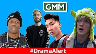 KSI WINS FIGHT! #DramaAlert PewDiePie ROASTS Logan Paul, Rhett & Link & RiceGum SUPERBOWL