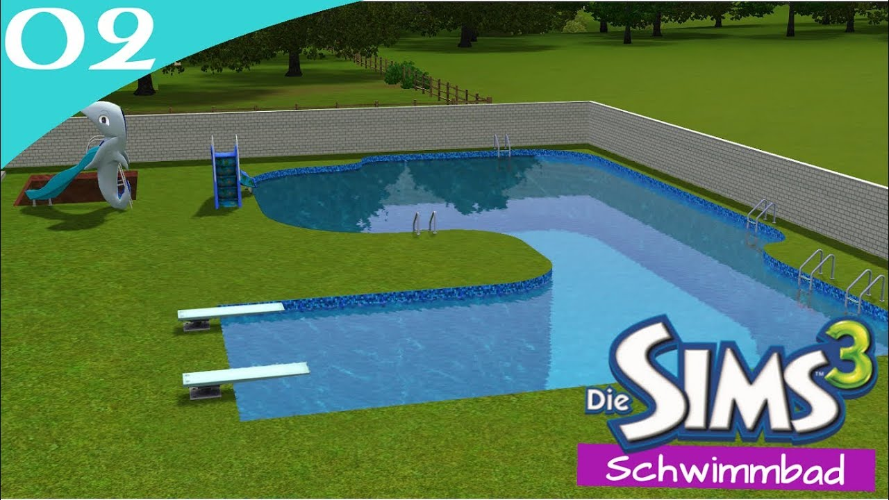 Delightful Hausbau Reihe 6 02: Schwimmbad [Letu0027s Build Sims 3 Haus]