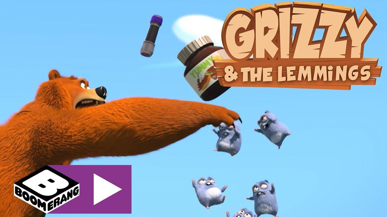 Grizzy i lemingi | Tajna broń | Boomerang
