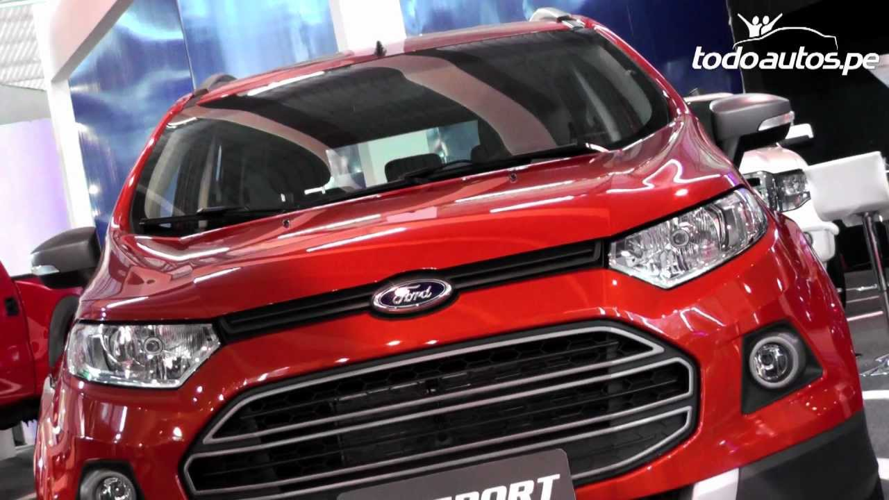 Ford Ecosport 2013 en Per I Video en Full HD I Todoautospe  YouTube