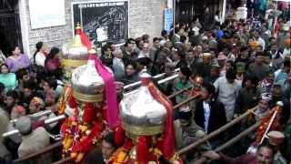 Shivratri Jaleb ( carnival ) in Mandi 2012 , pahari songs and music instruments ,  Himachal Tourism