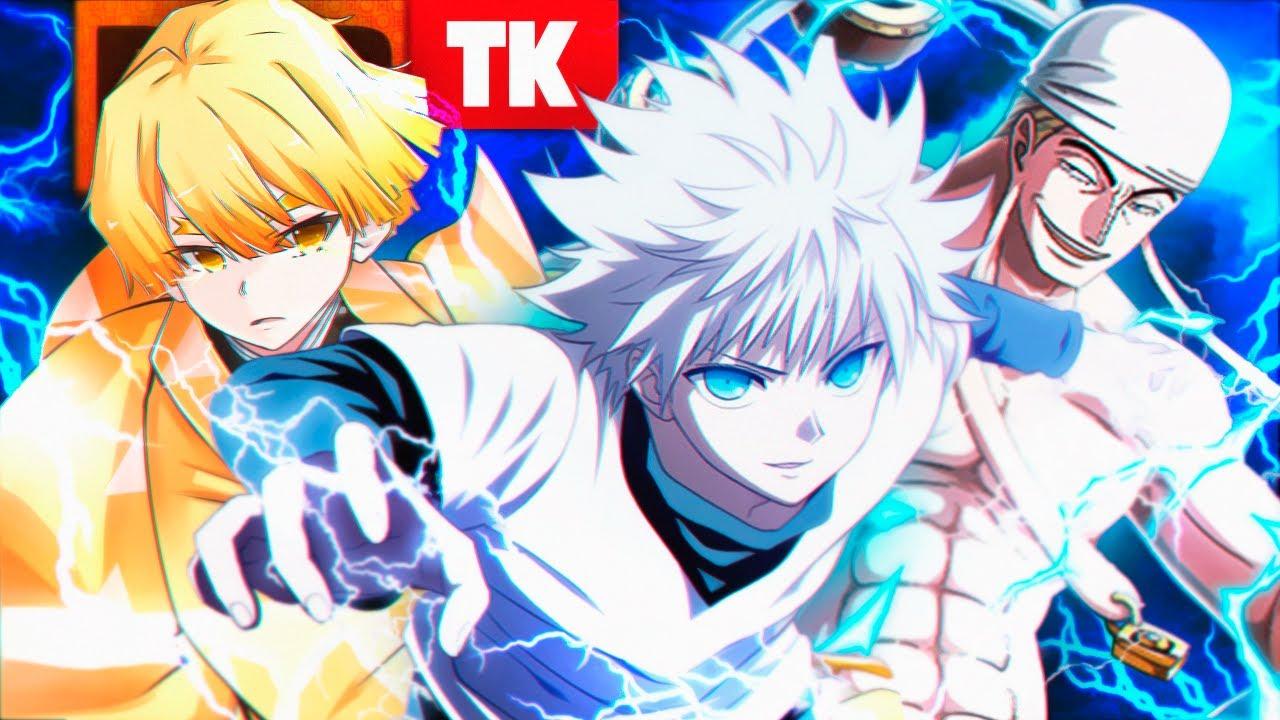 Rap: Então Eletrifique (Enel, Zenitsu, Killua...) // Eletricidade Fatal // TK RAPS