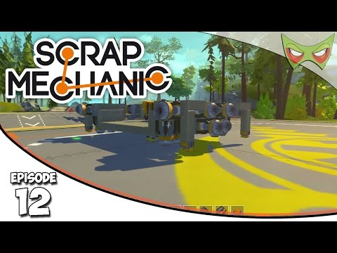 Scrap Mechanic Gameplay - Ep. 12 - Hover Platform! - Lets Play