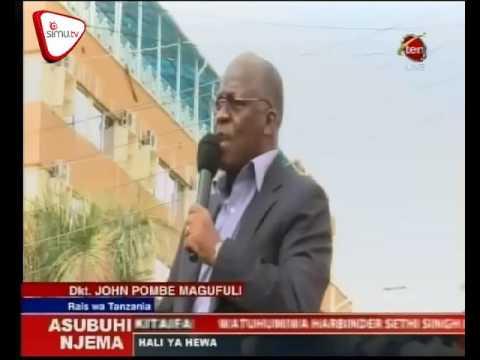 Ziara Ya Rais Magufuli Mkoani Mwanza