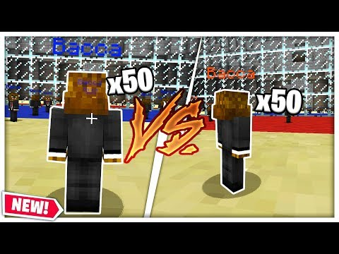 *BACCA ARMY 50 VS 50* BACCA BASHER THE MOST FUN MINECRAFT MODDED GAMEMODE EVER