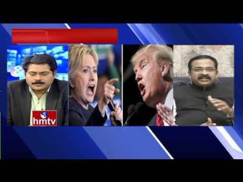 Debate on US Elections: Hillary Clinton vs Donald Trump - Candidates Comparison|Left & Right| HMTV
