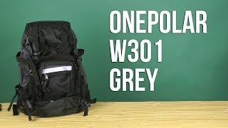 Розпакування Onepolar W301 45 л Grey