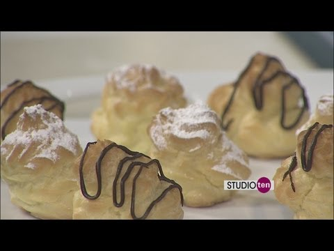 Studio 10: cream puffs, SHMILY Tree Bakery cafe
