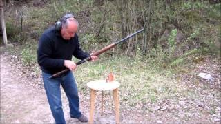 Fusil Baïkal semi-automatique MP-155 calibre 12