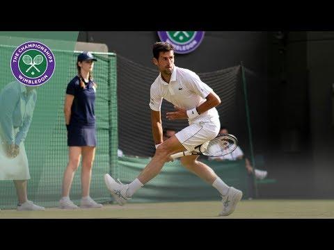 HSBC Play of the Day - Novak Djokovic and David Goffin | Wimbledon 2019