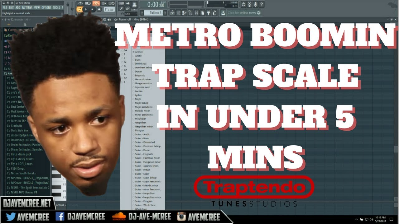Metro Boomin | TRAP SCALE Explained | IN UNDER 5 MINS | FL Studio