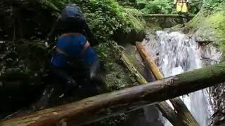 脊振山系・洗谷・71歳沢登りデビューです