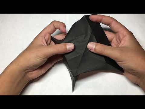 How to Make a Paper UFO Origami