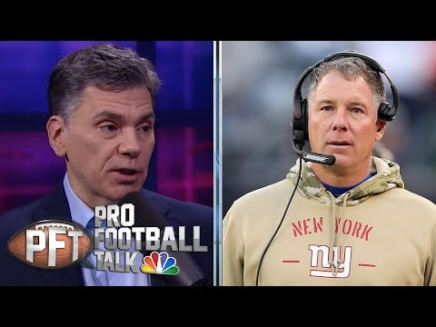 New York Giants needed to move on from Pat Shurmur | Pro Football Talk | NBC Sports