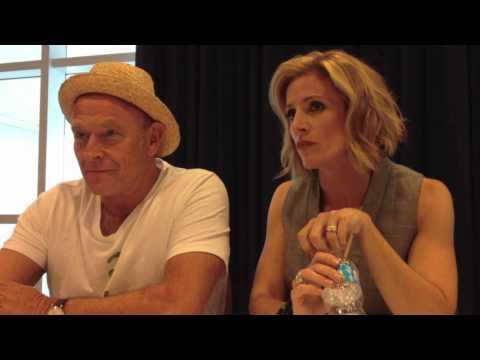 Comic-Con 2012 - PSYCH's Corbin Bernsen and Kirsten Nelson