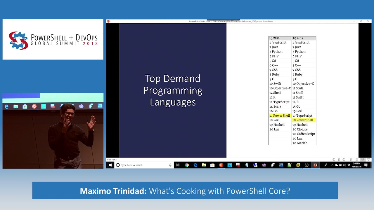 Mind the feature gaps in the PowerShell open source project