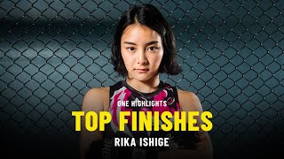 Rika Ishige's Top Finishes | ONE Highlights