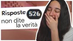 HO CHIESTO A 500 PERSONE DI MENTIRMI | Totta