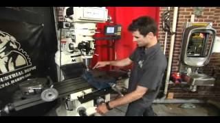 Bryan Fuller Demonstrates Jet Metal Milling Machine