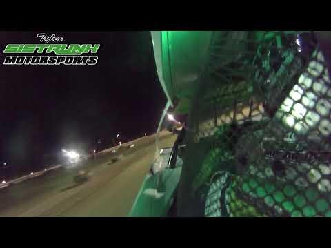 "IN CAR ACTION -""Fall Fling"" Heat Race WIN - North Florida Speedway - Tyler Sistrunk Motorsports"
