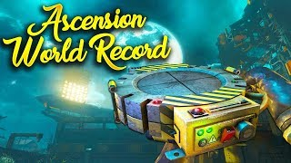 Ascension Easter Egg Speedrun World Record 7:32 (Black Ops 3 Zombies World Record)