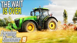 JOHN DEERE OFFICIALLY IN FARMING SIMULATOR 19 - REVEAL TRAILER, NEWS & REACTIONS