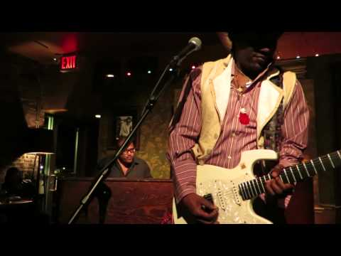 Ladell McLin with Francesco Pini at The Classon Social Club