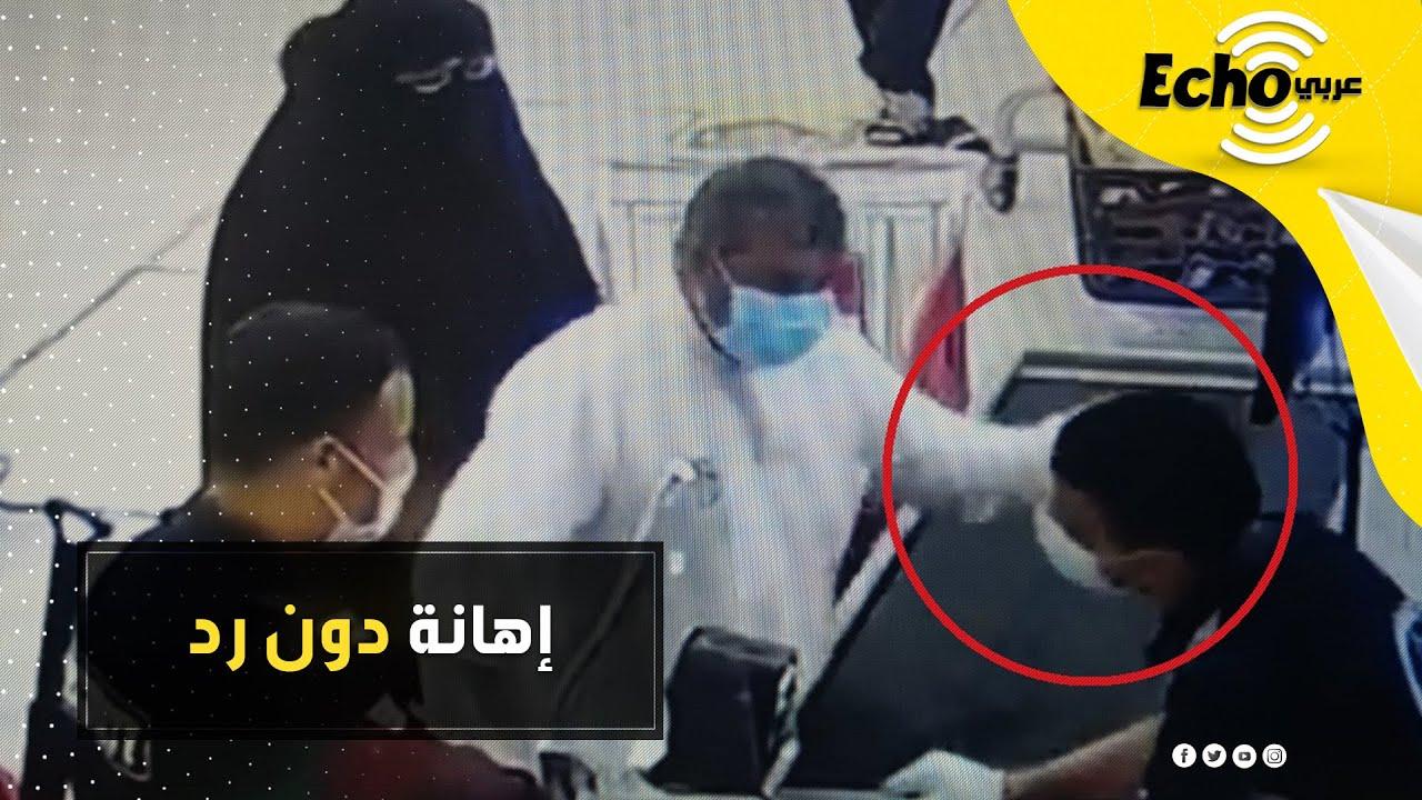 كويتي يصفع عامل مصري أمام الجميع.. شاهد التفاصيل الكاملة وأول إجراء تم إتخاذه