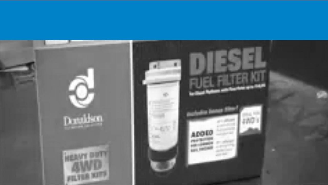 Donaldson Fuel Filter Kits