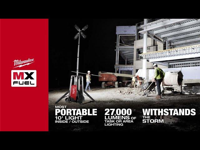 Milwaukee® MX FUEL™ ROCKET™ Tower Light/Charger