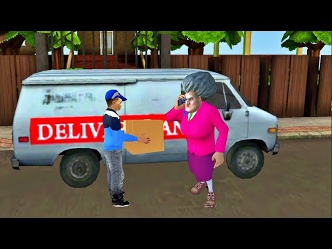 Scary Teacher 3D #New Levels Delivery Man - Android/iOS Gameplay HD